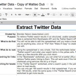 How To Extract Data From Twitter With No Programming Knowledge To Create An Auto-Update Google Spreadsheet [Approaching Data Journalism - Episode #3]