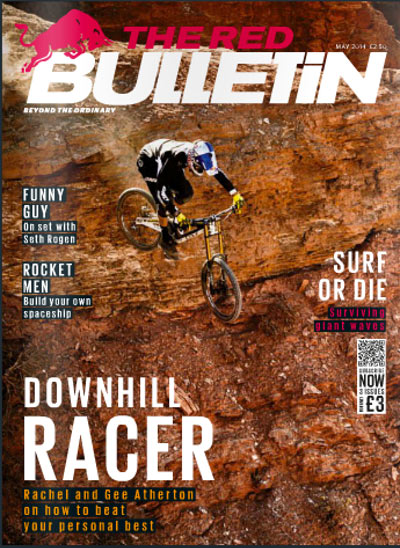 Content Marketing example: The Red Bulletin